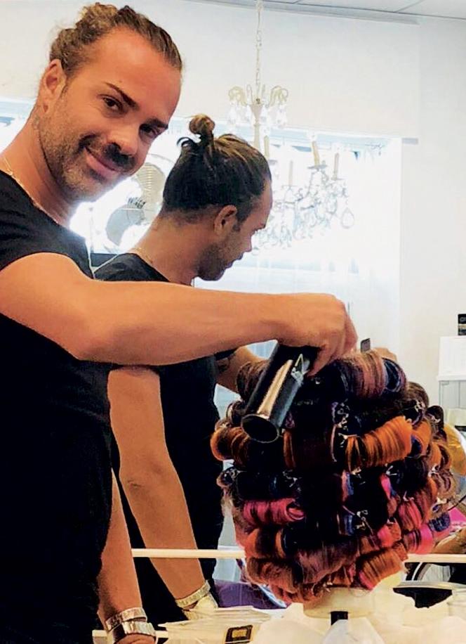 miniatura parrucchiere